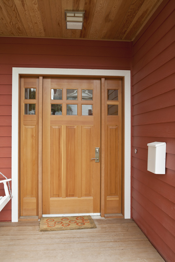 Timber external door
