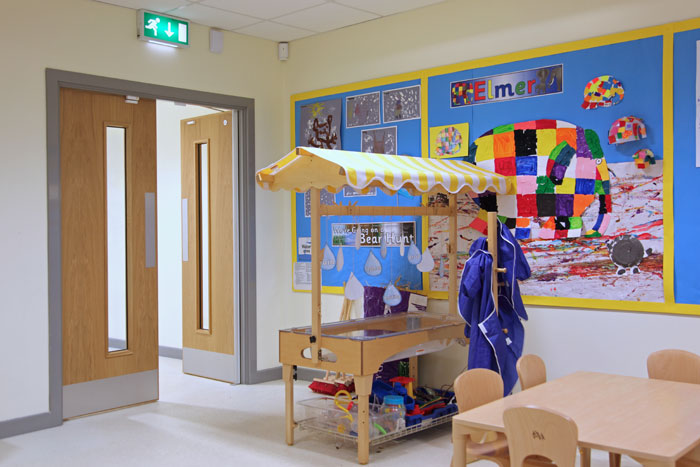 fire doors in nursery